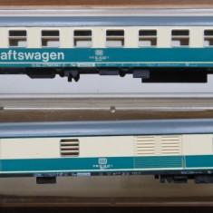 Macheta vagon Minitrix 3111 si 3119 - Macheta Feroviara Trix, N - 1:160, Vagoane