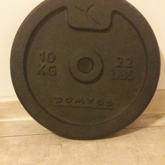 Disc haltera de 10 kg, Domyos