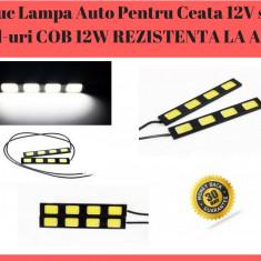 Lumini De Zi Cu LED - DRL Daytime Running Light - Rezistente La Apa Si Praf