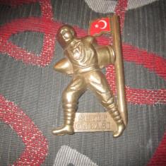 magnet de frigider rar din bronz c 19