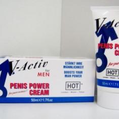 CREMA HOT V-ACTIV PENIS POWER 50ML - Stimulente sexuale