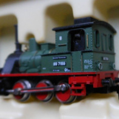 Macheta Locomotiva electrica Minitrix 2047 - Macheta Feroviara Trix, N - 1:160, Locomotive
