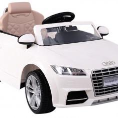 Masinuta electrica Audi TT Roadster alb - Masinuta electrica copii