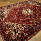 Covor mare persan, vintage, 210x310cm, manual, lana, Bakhtyiar