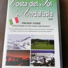 Caseta video - Festival Mondial al filmelor tursitice Danemarca 1997 italiana - Film documentare, Romana