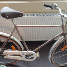 Bicicleta Hercules Napoli Express - Bicicleta de oras, 28 inch, Numar viteze: 3