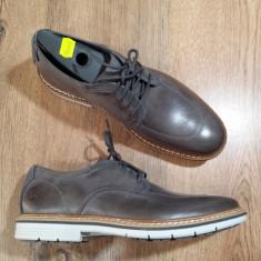Pantofi barbat TIMBERLAND Sensorflex originali piele foarte comozi 41, 44, 45, Culoare: Gri, Piele naturala, Casual