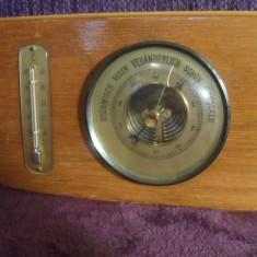 Barometru cu termometru - Statie meteo