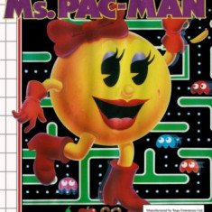 MS PAC - MAN  -  SEGA Master System [Second hand], Actiune, 3+, Single player