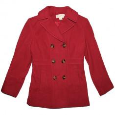 Palton MICHAEL KORS Lana Red Coat - Paltoane Dama, Femei - 100% AUTENTIC, Rosu, Bumbac, Guess by Marciano