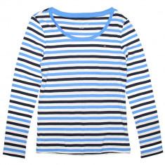 Bluza TOMMY HILFIGER Stripes - Bluze Dama, Femei - 100% AUTENTIC - Bluza dama Tommy Hilfiger, Marime: S, Culoare: Din imagine, Maneca lunga, Bumbac