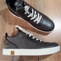 Pantofi barbat TIMBERLAND Sensorflex originali noi piele foarte comozi 44.5/45, Culoare: Gri, Piele naturala, Casual
