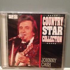 JOHNNY CASH - COUNTRY STAR - 2CD SET (1997/SR/GERMANY) - ORIGINAL/NOU/SIGILAT - Muzica Country warner