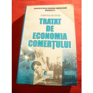 Dumitru Petrache - Tratat de Economia Comertului - Ed. Eficient 1998 , 654 pag