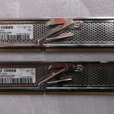 Kit memorie 4gb ddr3 1333mhz(2x2gb) OCZ Platinum - Memorie RAM Ocz, Dual channel