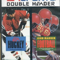EA Sports Double Header - SEGA Mega Drive [Second hand] - Jocuri Sega, Sporturi, 3+, Multiplayer