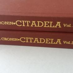 RWX 79 - CITADELA - AJ CRONIN - 2 VOLUME - EDITIE INTERBELICA - Carte de lux