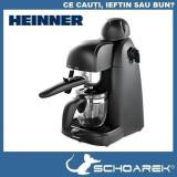 Espressor de cafea Heinner, 240 ml, 3.5 bar, Negru. RESIGILAT |piese de schimb