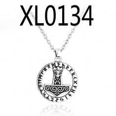 Pandantiv ciocanul lui Thor Mjolnir Norse sign amuleta protectoare