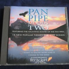 Free The Spirit- Pan Pipe Moods Two _ CD,album _ Polygram TV (UK)