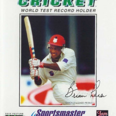 Brian Lara Cricket - SEGA Mega Drive [Second hand] - Jocuri Sega, Sporturi, 3+, Single player