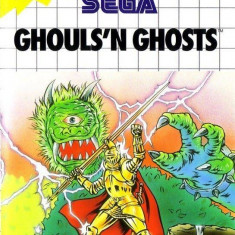 Ghouls N Ghosts - SEGA Master System [Second hand] - Jocuri Sega, Actiune, 3+, Single player