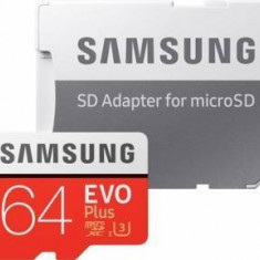Card memorie Samsung EVO Plus 64GB., Micro SD