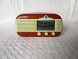 Aparat radio de epoca - reproducere miniatura, radio functional miniatura