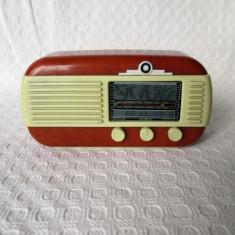 Radio vintage reproducere in miniatura, replica radio de epoca de colectie