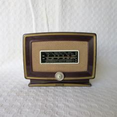Aparat radio reproducere in miniatura, replica radio de epoca de colectie