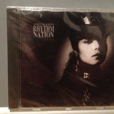 JANET JACKSON - RHYTHM NATION 1814 (1989/A & M/GERMANY) - ORIGINAL/NOU/SIGILAT - Muzica Dance A&M rec, CD