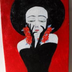 Ea 4-pictura ulei pe placaj;