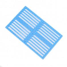 Placă din Plastic Albastră cu Găuri