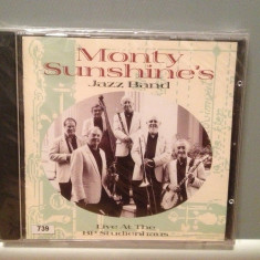MONTY SUNSHINE'S JAZZ BAND - LIVE (1998/TIMELESS/HOLLAND) - ORIGINAL/NOU/SIGILAT, CD