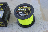 Fir Super Power Fluo FL nylon ( guta ) grosime 0,25mm rola de 1000 metri Galben
