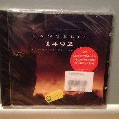 VANGELIS - 1492 CONQUEST OF PARADISE (1992/ WARNER /GERMANY ) - ORIGINAL/NOU - Muzica soundtrack warner, CD