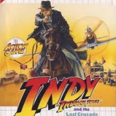 Indy Indiana Jones & The Last Crusade - SEGA Master System  [Second hand], Board games, 3+, Single player