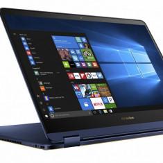 Laptop Asus ZenBook Flip UX370UA-C4196T, 13.3 FHD I5-8250U 8Gb 256Gb Uma W10H Blue - UPS nJOY