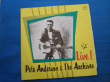 VINIL ROCK PETE ANDERSOS END THE ARCHIVES-LIVE 1, Melodia