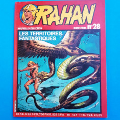 RAHAN Nr 28 --an 1982 - Reviste benzi desenate
