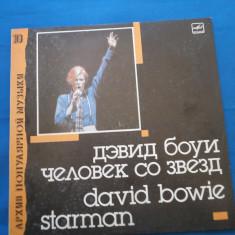 VINIL ROCK DAVID BOWIE -STARMAN - Muzica Rock Melodia