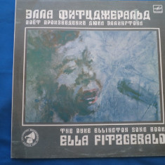 VINIL ROCK ELLA FITSGERALD-THE DUKE ELLINGTON SONG BOOK - Muzica Rock Melodia