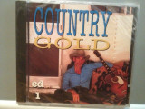 COUNTRY GOLD - VARIOUS ARTISTS (1994/DISKY/HOLLAND) - ORIGINAL/NOU/SIGILAT, CD, Island rec