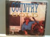 COUNTRY GOLD - VARIOUS ARTISTS (1994/DISKY/HOLLAND) - ORIGINAL/NOU/SIGILAT