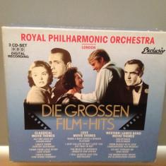 THE BIG FILM-HITS - 3CD BOX SET (1994/EXCLUSIV/GERMANY) - ORIGINAL/NOU - Muzica soundtrack Island rec