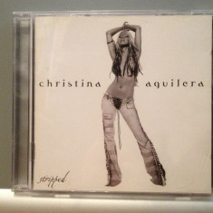 CHRISTINA AGUILERA - STRIPPED (2002/BMG/GERMANY) - cd ORIGINAL - Muzica Pop BMG rec
