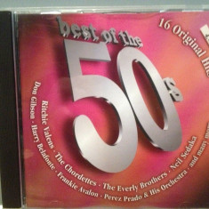 BEST OF THE 50s - VARIOUS ARTISTS (2002/BMG/GERMANY) - cd ORIGINAL - Muzica Rock & Roll BMG rec