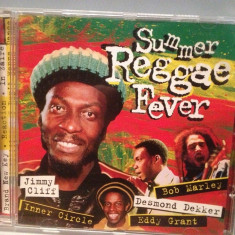 SUMMER REGGAE FEVER - VARIOUS ARTISTS (2000/EUROTREND/GERMANY) - cd ORIGINAL - Muzica Reggae