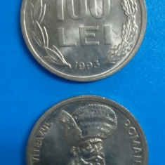 SV * Romania  100  LEI  1993    AUNC+ / UNC