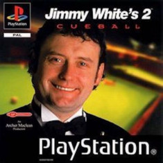 Jimmy White's 2 Cueball -  PS1 [Second hand], Multiplayer, Sporturi, 3+